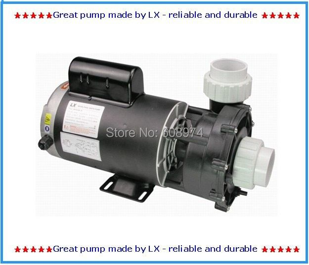 LX Pool and spa pump WUA200-II 2 hp 2 speed, 230v with 2 speed,Suitable for North America energy saver spa equipment REPLACEMENT