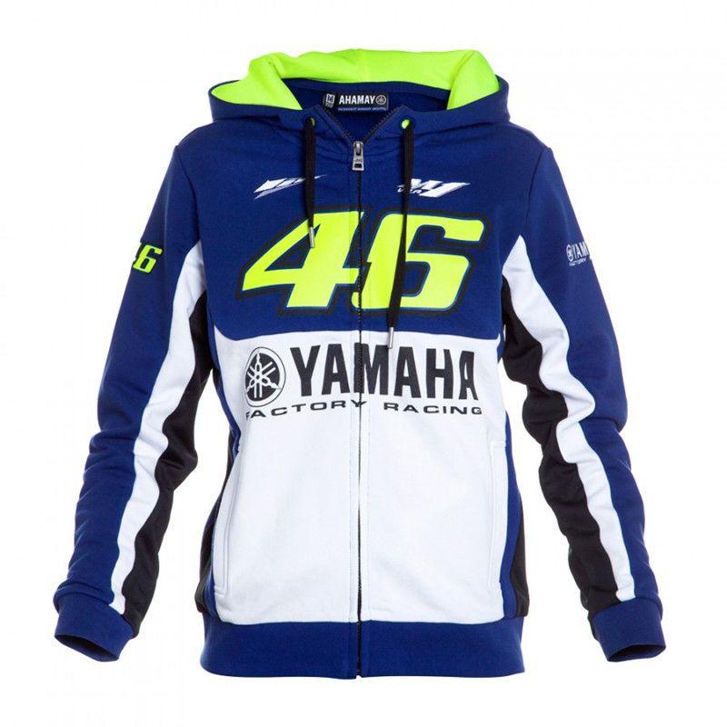 2017 New Men Clothing 100% Cotton Rossi VR 46 Hoodies Sweatshirts MotoGP Hoodies Motorcycle Casual Winter Sports Jackets