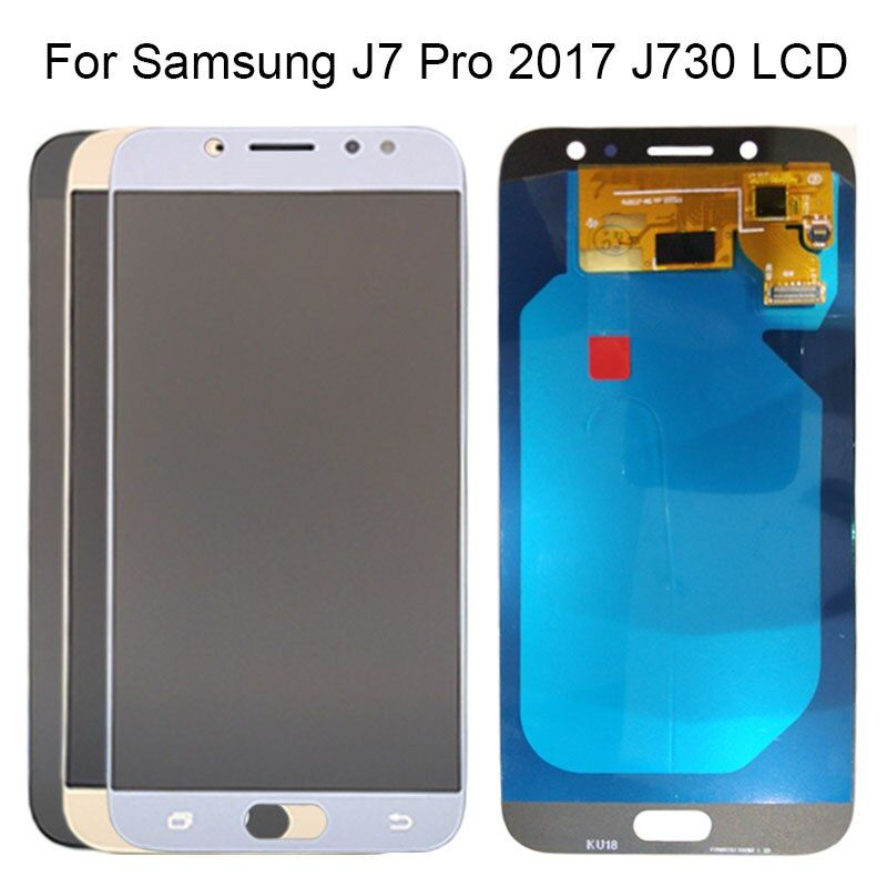 5.5'' AMOLED Display For SAMSUNG Galaxy J730 J7 Pro 2017 LCD Display Touch Screen Digitizer J730F For SAMSUNG J7 Pro Replacement