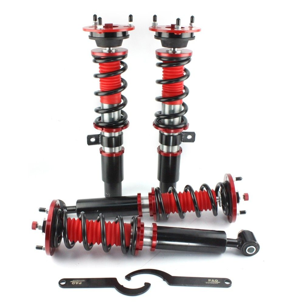 36 level adjust damper height Coilovers Coil Suspension Spring Strut absorber Airmatic for BMW E60 5 Series