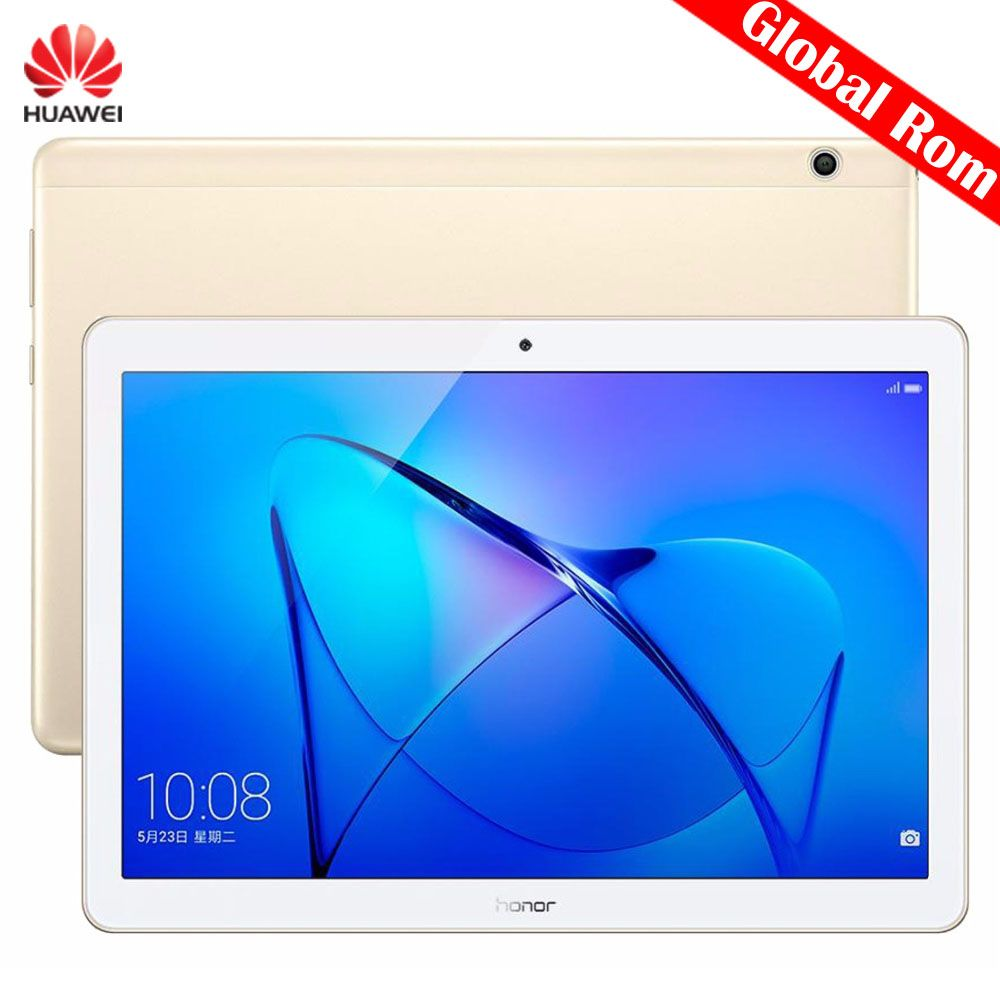 Original Huawei MediaPad T3 10 AGS-L09 4G Phone Call Global Tablets 9.6 inch 3GB 32GB EMUI 5.1 SnapDragon 425 Quad Core 4x1.4GHz