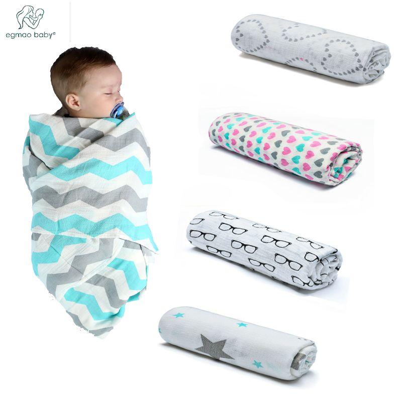 High Quality Newest Soft Frivolous Musin Neweborn 120*120 Inch  Muslin  Blanket  Organic Bamboo Baby Bath Towel  Baby Swaddles