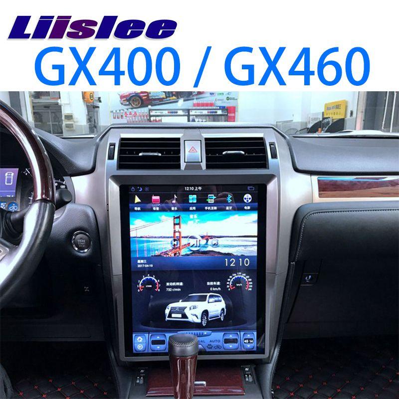 LiisLee Auto Multimedia DVD GPS Hallo-fi Audio Radio Stereo Für Lexus GX J150 GX400 GX460 2009 ~ 2018 Original Stil navigation NAVI