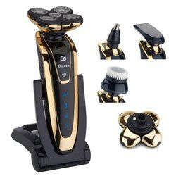 Wet/dry 5D Shaver For Men Electric Shaver Electric Razor Rechargeable body shaving machine waterproof beard shaver cleaning