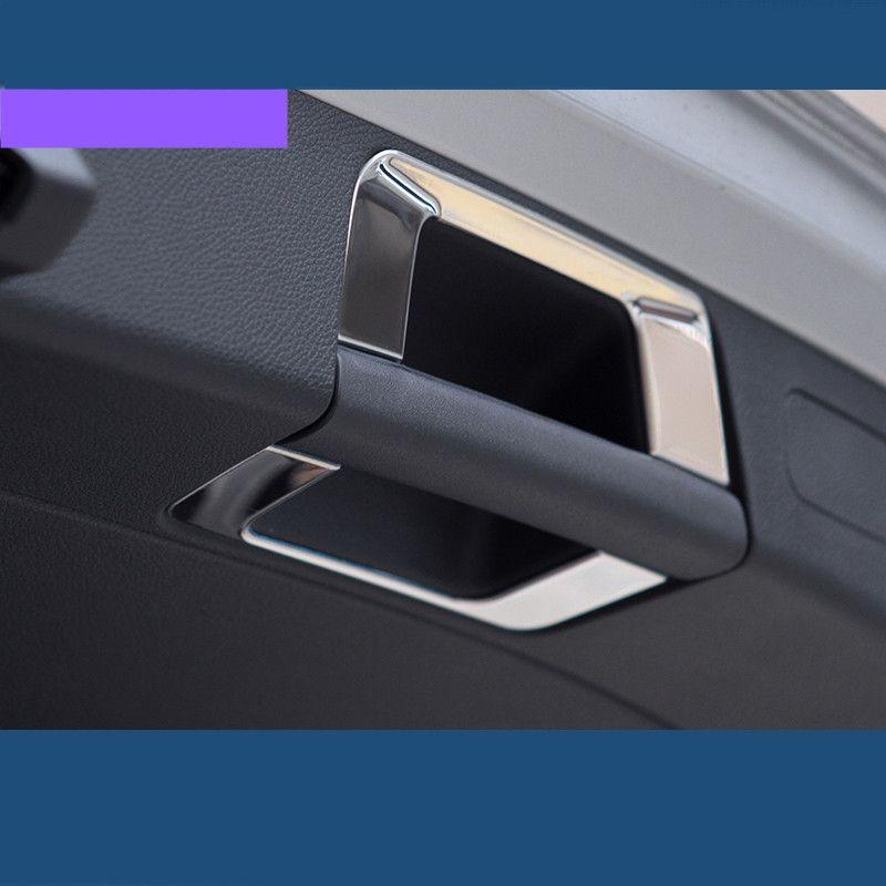 Новый Дизайн стайлинга автомобилей багажнике автомобиля ручка Рамки Блёстки автомобиля Интимные аксессуары Блёстки для Mercedes Benz GLC gla 200 220 260...