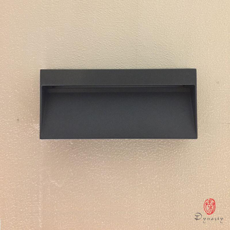 Dynastie Rechteck LED Wandleuchten Outdoor Indoor Aluminium Wasserdicht Wandleuchte Wand Bad Foyer Salon Gang Cafe