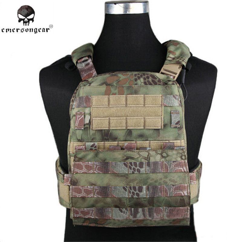 EMERSON AVS Taktische Weste Plate Carrier Jagd Airsoft Military Combat Gear Molle Weste Schwere Version Outdoor Ausrüstung