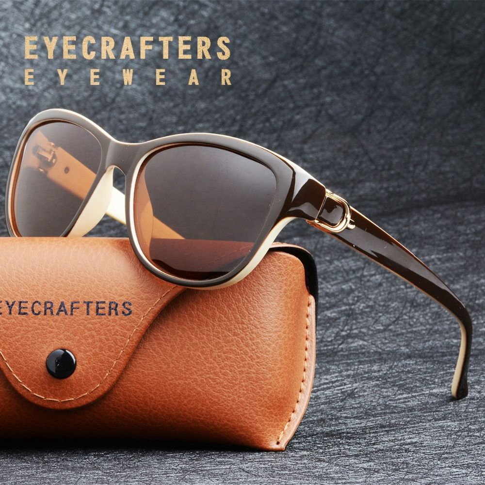 2019 Luxury Brand Design Cat Eye Polarized Sunglasses Womens Lady Elegant Sun Glasses Female Driving Eyewear Oculos De Sol