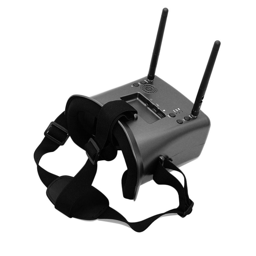 FPV 008D DVR Goggles with DVR 5.8G 40CH 480*272 Diversity Video Goggles for RC Quadcopter Multicopter
