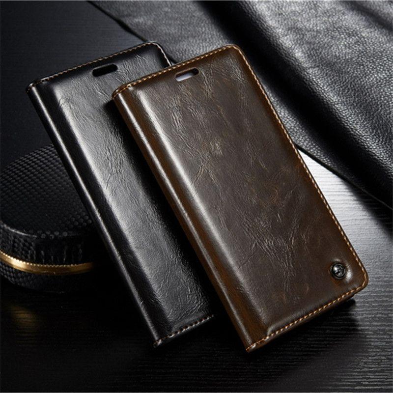 CaseMe Téléphone Cas pour Xiaomi Redmi Note 3 Pro De Luxe En Cuir Flip Stand Couverture pour Hongmi Note3 Magnétique Portefeuille Sacs titulaire de la carte