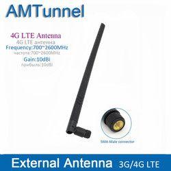 4g LTE antenne externe 10dBi 3g 4g routeur antenne 3g antenne intérieure avec SMA connecteur mâle pour Huawei routeur modem
