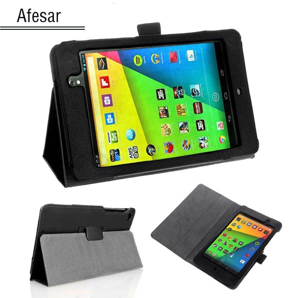 Flip Cas de Couverture de Livre pour le Nouveau Google Nexus 7 2013 FHD 2ème Génération Tablet Slim Fit Folio En Cuir stand Cas (Auto Réveil/Sommeil)