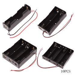 5pcs/lot New Power Bank 18650 Battery Holder Plastic Battery Holder Storage Box Case for 1x 2x 3x 4x18650
