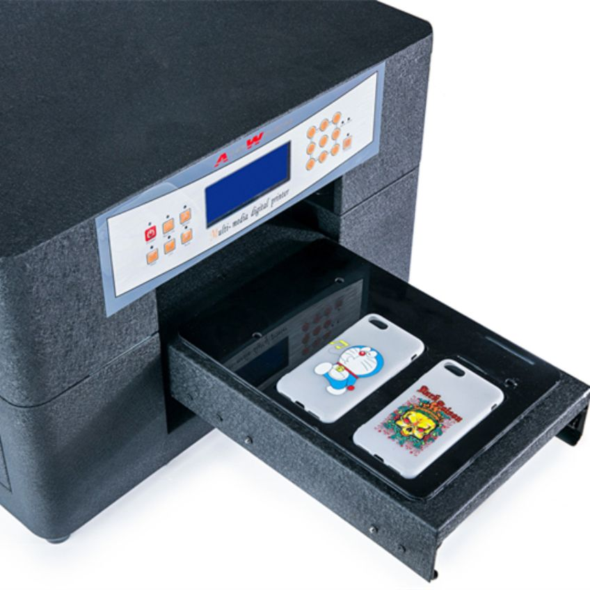 High Quality A4 Uv Printer For Pvc Id Card ,Phone Case with Emboss Effect