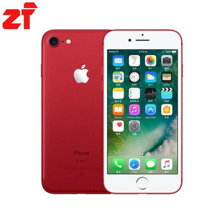 Apple iPhone 7 plus New Original  2GB RAM 32gb 128GB 256GB ROM IOS 10 LTE  Quad Core Fingerprint Brand Cell Phones iphone7 plus