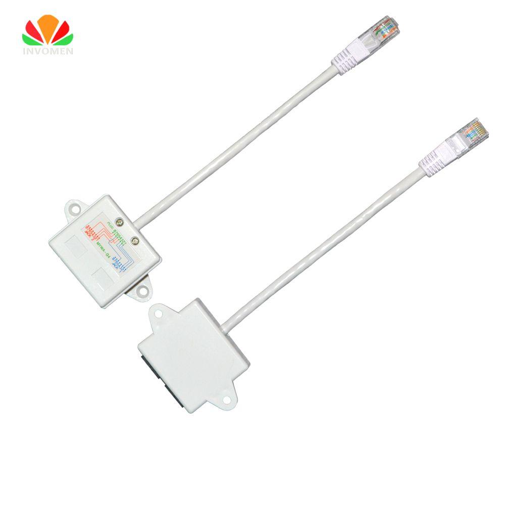Ethernet Extension Câble Réseau Splitter RJ45 Connecteur 4578 à 1236 LAN Port JB Routeur IPTV Partager 1 Câble 2 PC Internet en ligne