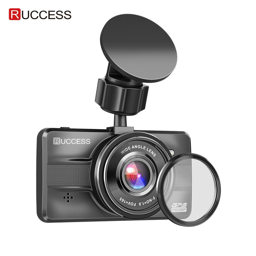 Ruccess Volle HD 1080P AUTO DVR 3,0 IPS Dash Cam mit GPS CPL Auto Kamera Recorder für Auto Super nachtsicht 24H Parkplatz Modus WDR