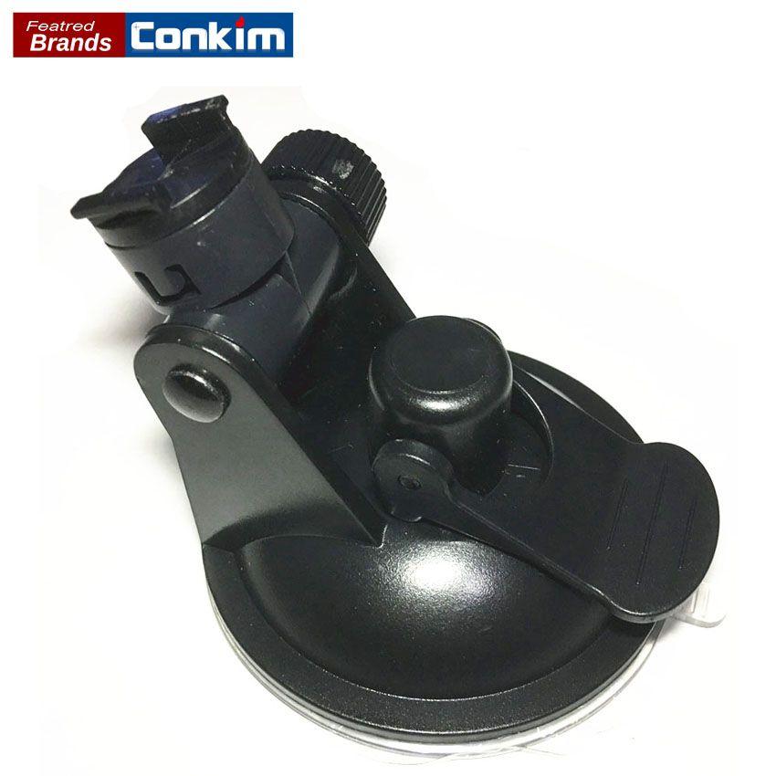 Conkim voiture DVR/GPS support pour Sport DV caméra montage DVR supports enregistreur de conduite ventouse noir Stands Holde