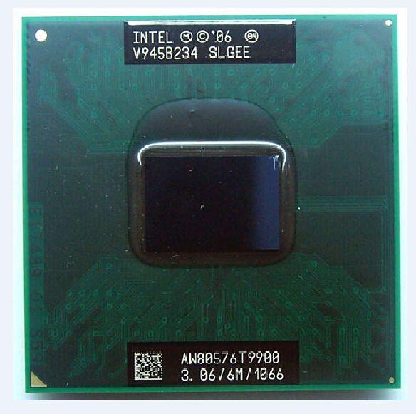 Processeur d'unité centrale INTEL PGA GM/PM45 T9900 3.06 Ghz 6 m 1066 mhz