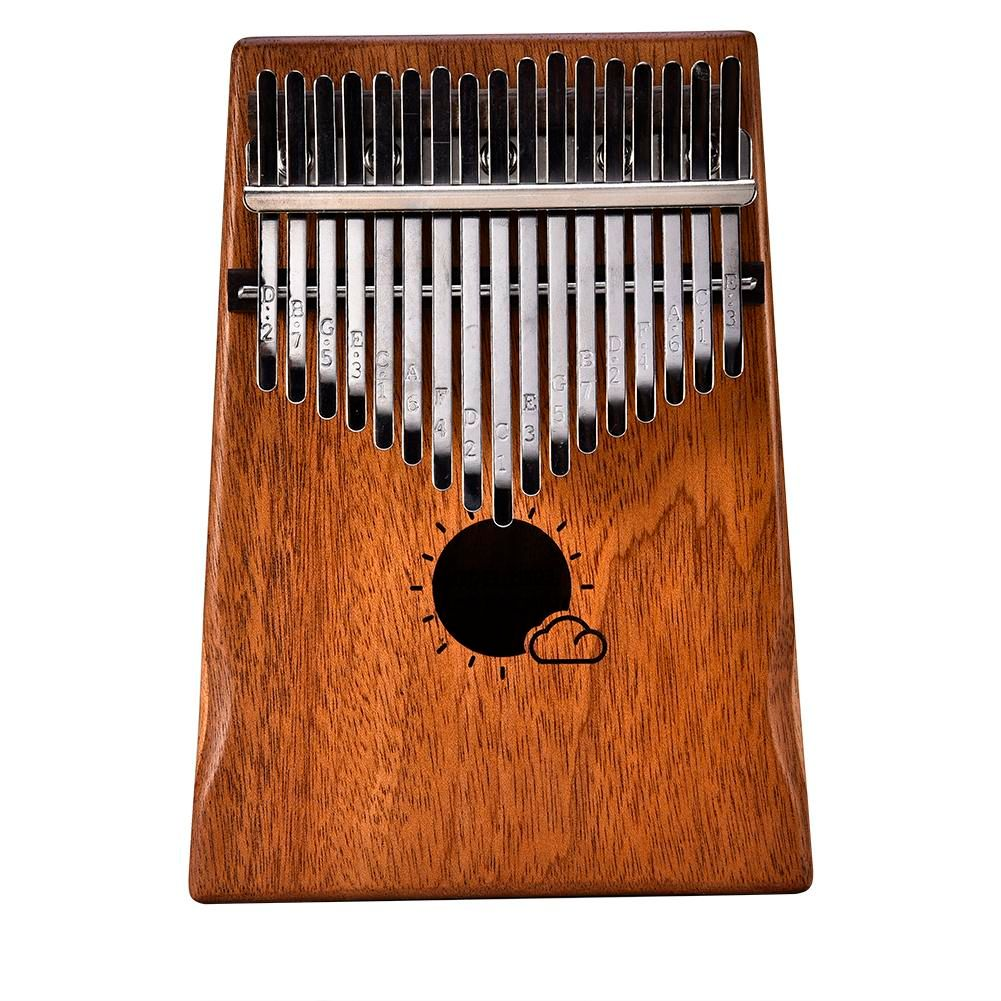 17 Key Kalimba Mbira Calimba African solid Mahogany Thumb Piano Finger with Bag Keyboard Marimba Wood Musical <font><b>Instrument</b></font>
