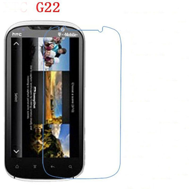 3 PCS HD phone film PE touch preserving eyesight for HTC G22 Amaze 4G screen protector +Wipe wipes