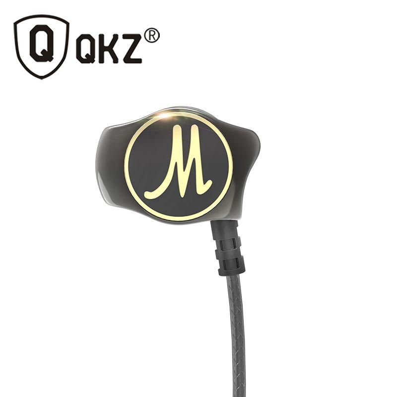 In-ear Écouteurs QKZ DM7 Lourd Basse HIFI Écouteurs D'origine DJ Filaire Fone de ouvido Écouteurs Bruit Isoler fone de ouvido