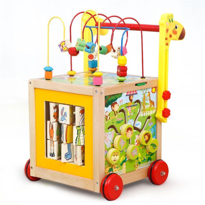 Baby Früh Lernen Holz Kinder Walker