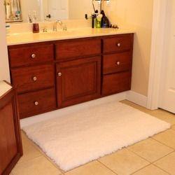 50 * 80 cm alfombra moqueta alfombra de baño del ante cómodo antideslizante bath mats envío gratis