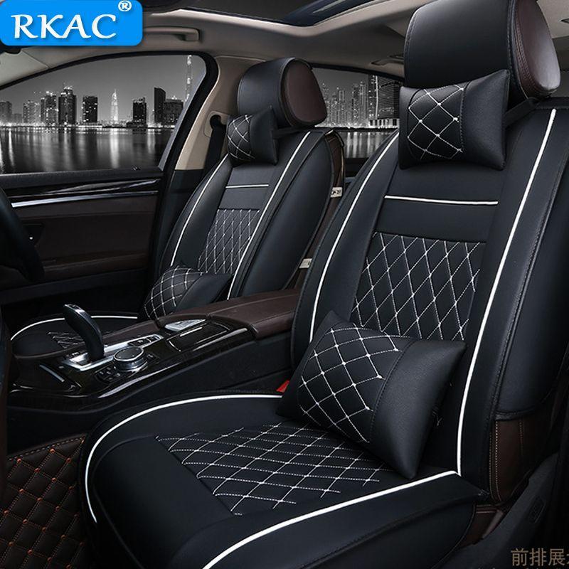 Auto Sitzbezüge PU Leder Auto Vorderseite rückseite Sitzbezüge für Fit Mercedes Benz A C W204 W205 E W211 w212 W213 S klasse CLA GLC ML
