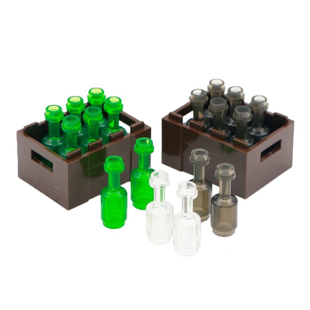 City Accessories Building Blocks Drinks Wine Bottle Utensil Friends Mini Figure Accessory Bricks Toys Compatible LegoINGlys City
