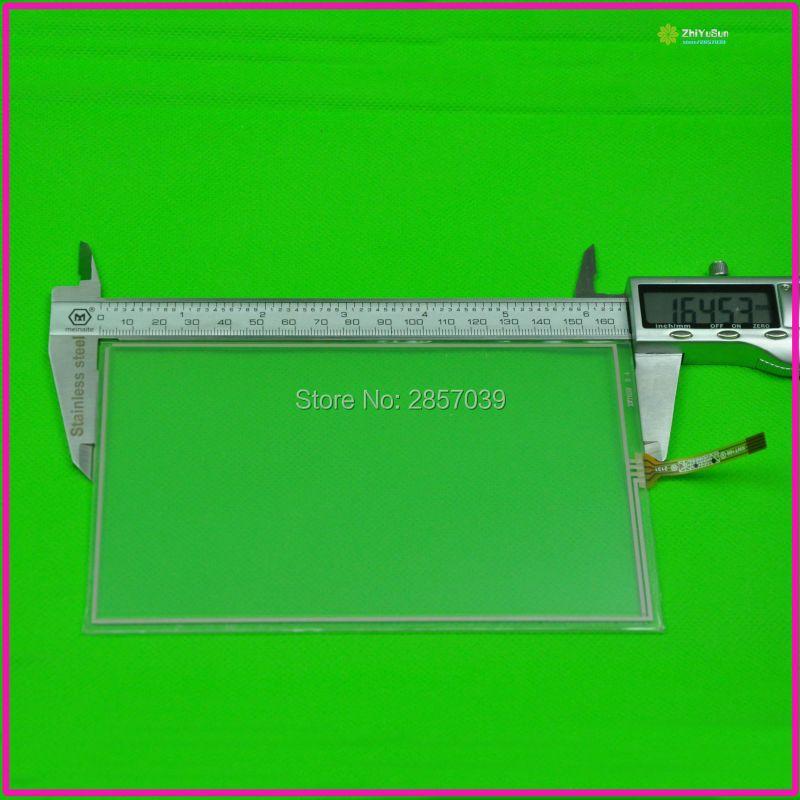 NOUVEAU XWT659 7 pouces 4 lins Tactile Écran Pour GPS DE VOITURE 165mm * 100mm touchsensor 165*100 qualité touchglass digitizer sortie Latérale