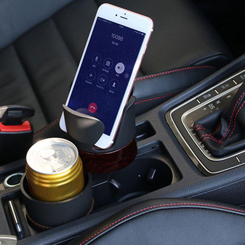 Multifunction Car Water Cup Holder Drinking Bottle Holder Sunglasses Phone Organizer Car Interior Accessories