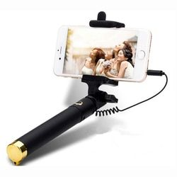 Universal Luxury mini Selfie Stick Monopod for Sony Xperia M4 AQUA E4 E3 C3 Z2A Z3 T3 M3 Wired Palo Selfie Groove Camera Para