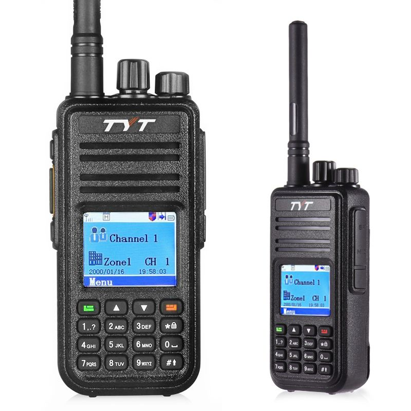 TYT MD-380 Walkie Talkie UHF 400-480MHz DMR Digital Radio 1000 Channels Comunicador Walkie Talkie md 380 Tytera