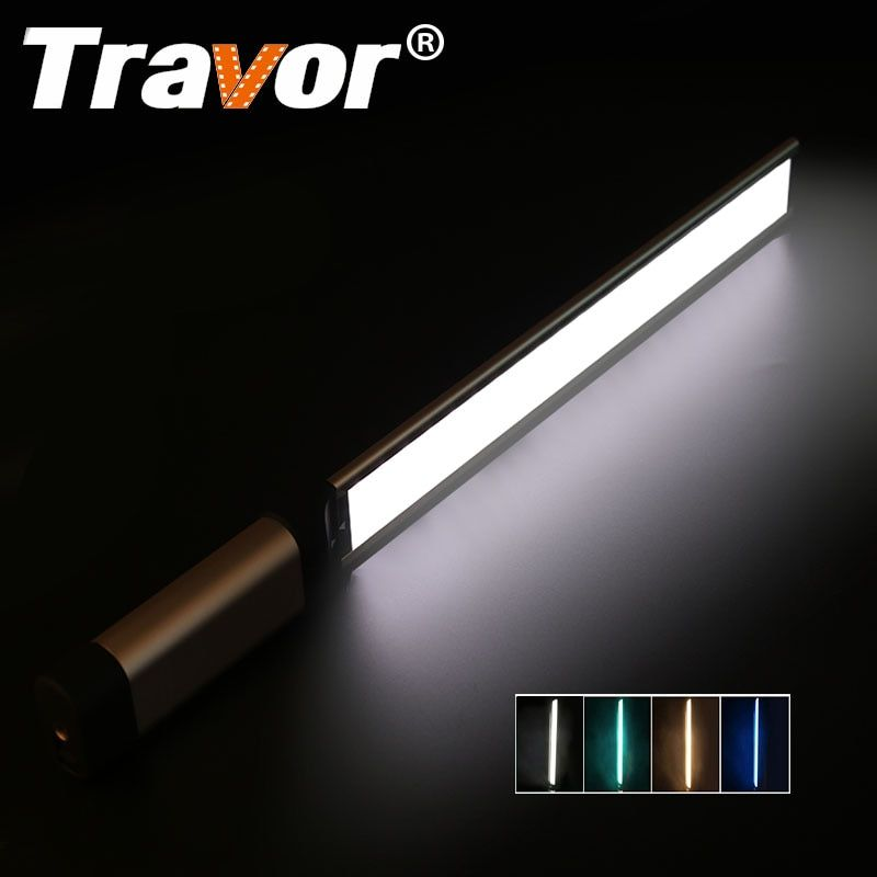 Travor LED Video Light photography light LA-L2 thinnest 7mm CRI 95 3200K 5500K with three color filter Green Blue Orange