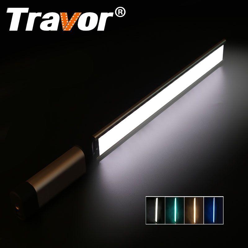 Travor LED Video Light photography light LA-L2 thinnest 7mm CRI 95 3200K 5500K with three color filter Green Blue Orange