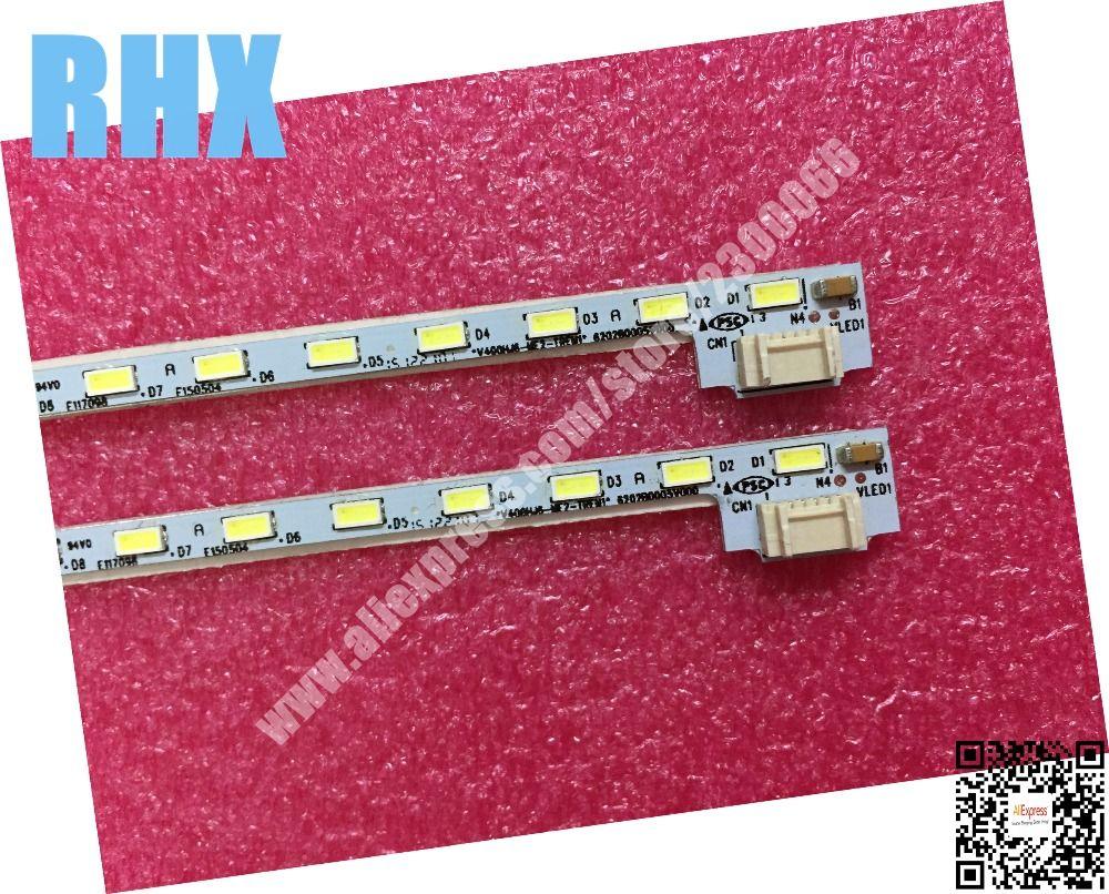 POUR NEW100 % Réparation Forte LCD-40V3A LCD tv LED rétro-éclairage lampe D'article V400HJ6-ME2-TREM1 V400HJ6-LE8 1 pièces = 52 LED 490 MM est neuf