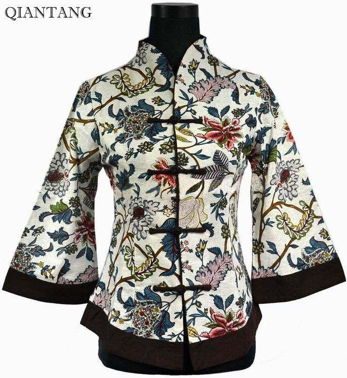 Nouveau printemps chinois femmes coton veste manteau S M L XL XXL XXXL 4XL 5XL 2218-3