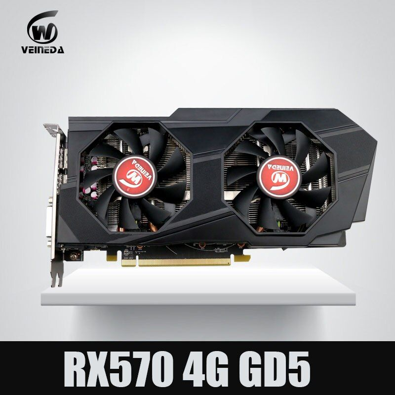 Video Card Computer Veineda RX 570 4G push GTX 1060 Graphic Card  InstantKill gtx 1050 ti gtx 750 ti for nvidia geforce games