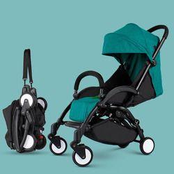 2018 nuevo estilo baby2B1 coche paraguas plegable ligero cochecito puede sentarse puede mentir portátil ultraligero en el avión