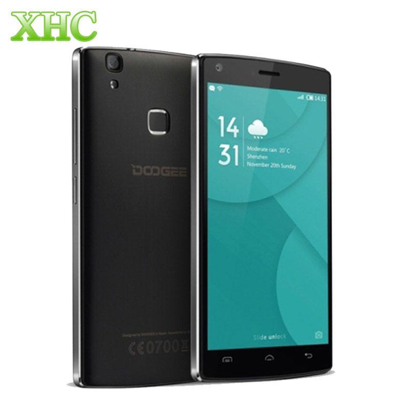 DOOGEE X5 MAX Pro Smartphone 5.0 inch ROM 16GB RAM 2GB Quad Core Android 6.0 LTE 4G 4000mAh Fingerprint ID Dual SIM Cell Phone