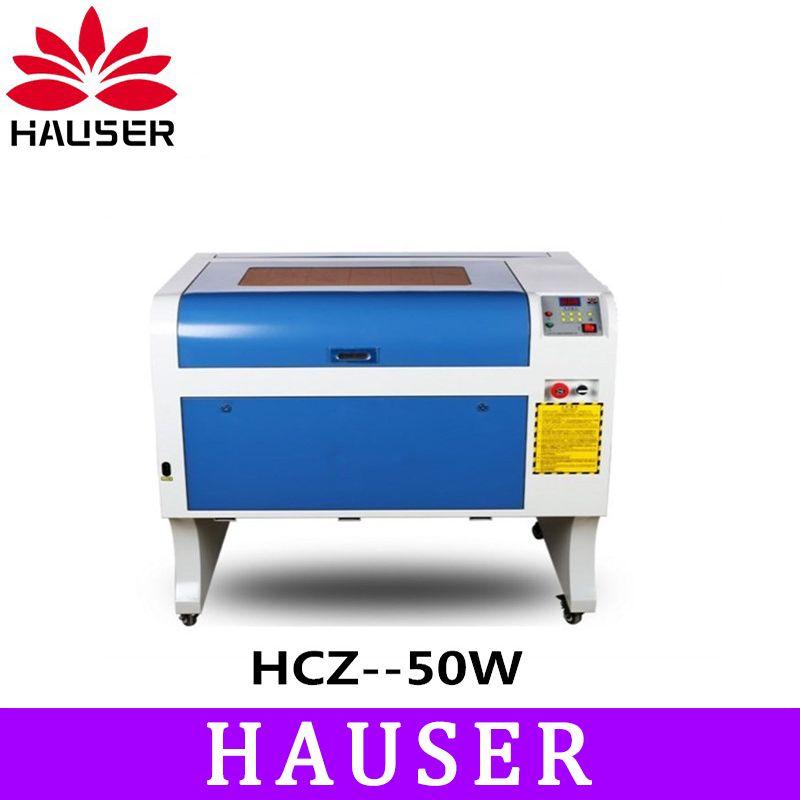 Freies Verschiffen HCZ 50 w co2 laser CNC m2 4060 laser gravur cutter maschine laser kennzeichnung maschine laser graveur cnc routerdiy