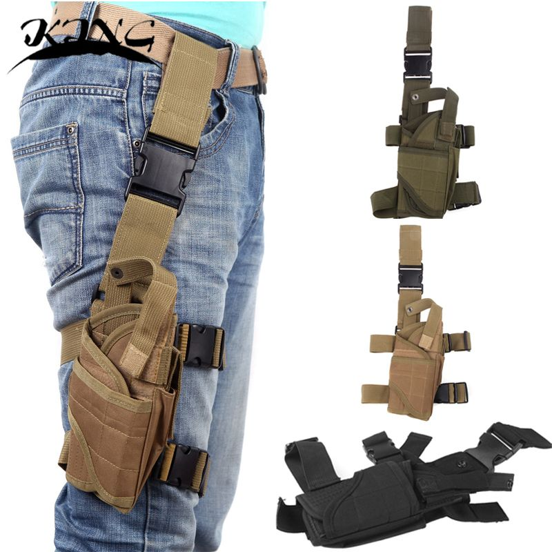 6 color <font><b>Tornado</b></font> Tactical Thigh Holster Drop Leg Holster Adjustable Pistol Handgun Nylon Gun Pouch fit SP2022 M9a1 USP 1911