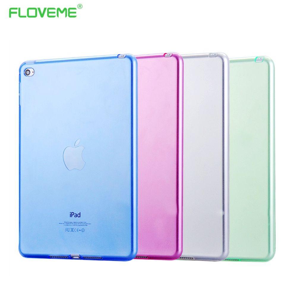 FLOVEME 7,9 ''Mini4 Transparant Dünne Dünne Abdeckung für Apple iPad Mini 4 Fall Weichen Silikon Gel Crystal Clear Zurück Funda fällen