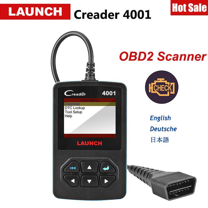 Starten CReader 4001 OBD OBD2 Scanner DIY Auto Code Reader CR4001 OBDII Diagnose Werkzeug Freies Update X431 Creader V + als Autel AL319