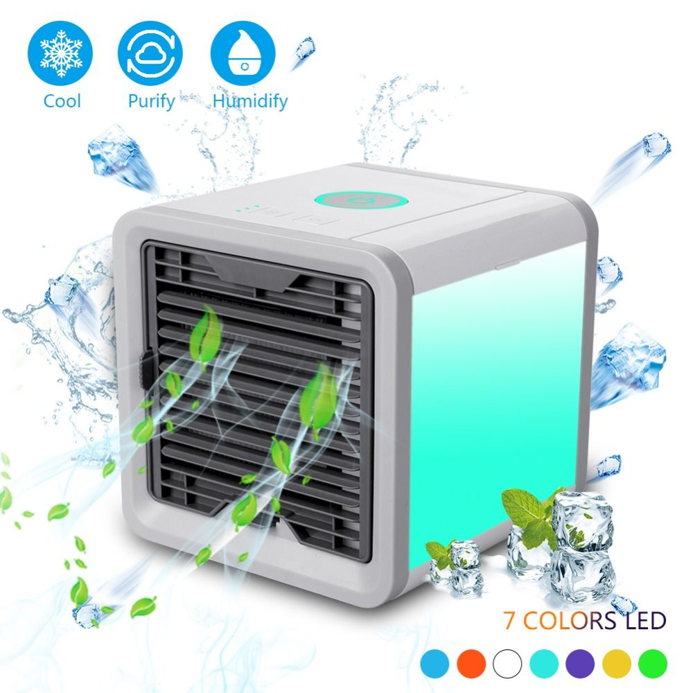 NEW Air Cooler Arctic Air Personal Space Cooler The Quick & Easy Way to Cool Any Space Air Conditioner Device Home Office <font><b>Desk</b></font>