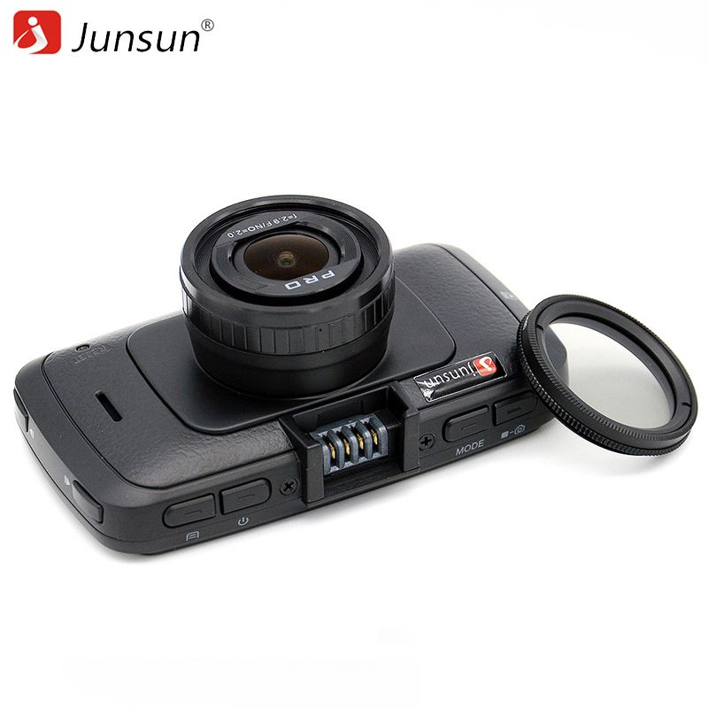 Junsun A790 Car DVR Camera Ambarella A7LA70 with Speedcam FHD 1080p 60Fps Video Recorder Registrar Night Vision Dash Cam
