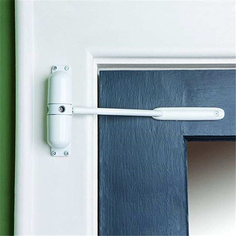 20-70 KG alliage de Zinc blanc réglable en Surface monté automatique fermeture à ressort porte ferme-porte coupe-feu porte bouchon matériel de porte