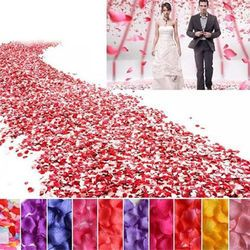 500 Unid simulación de pétalos entrega flores 500 unids Pétalos de rosas flor de la boda pétalos