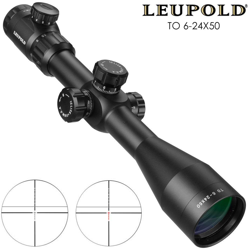 Leupold ZU 6-24x50 Zielfernrohr Taktische Optische Zielfernrohr Sniper Jagd Tactique Zielfernrohr Airsoft Gewehr